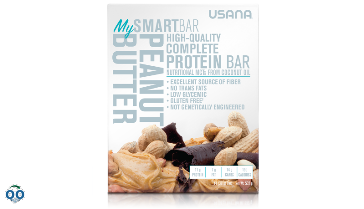 Usana mysmart™ bar peanut butter