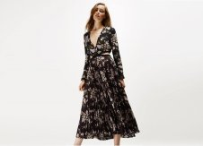 Spend the day in style with this floral midi dress from A.L.C
