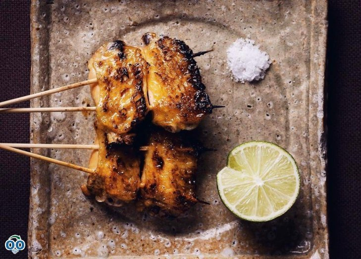 Let's start the week with our chicken wing skewers