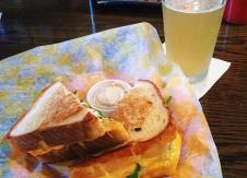 We have perfect grilled cheese and beer