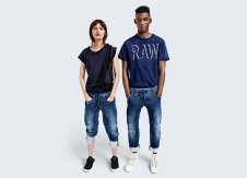 Everything looks better in blue, from G-Star Raw
