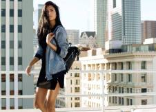 Bruna bomber jacket, from GUESS