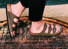 These birkenstock 'florida' sandals, from Journeys