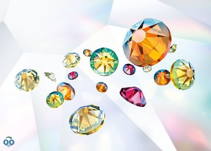 More brilliance, color vibrancy and unique refractions, from Swarovski