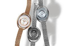 Explore this seasons' expertly crafted timepiece, the crystalline oval