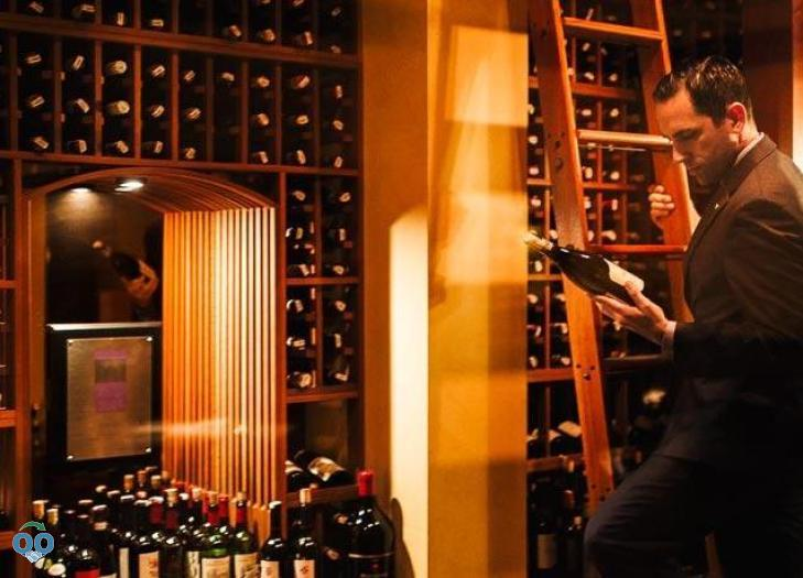 Addison Restaurant Wine Collection, Fairmont Grand Del Mar