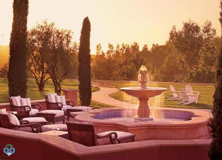 The Spa Fountain, Fairmont Grand Del Mar