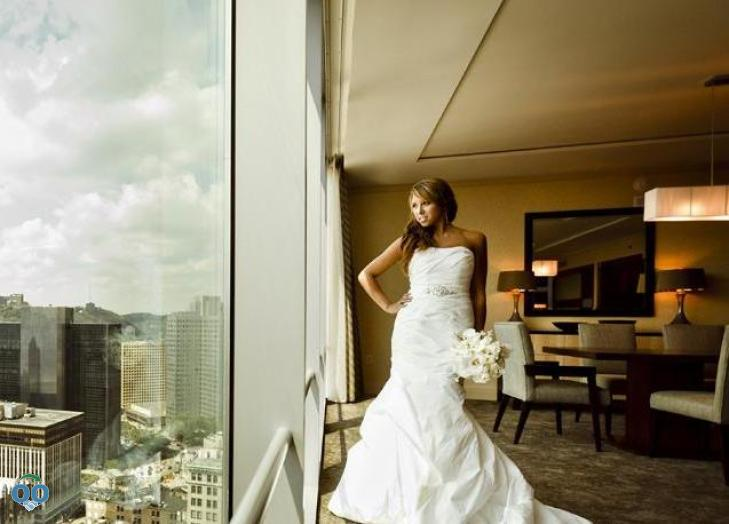 Bride, Fairmont Pittsburgh