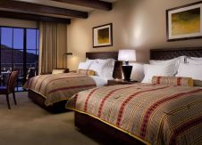 A Mountain View Room features a one king or two queen beds, The Ritz-Carlton