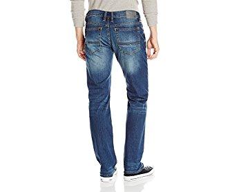 Buffalo David Bitton Men's Driven - X Straight Leg Jean Naturally Sanded/Scratch 33x32