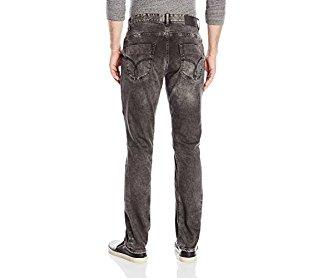 Calvin Klein Jeans Men's Slim Straight Moto Jean Capri 36W 30L