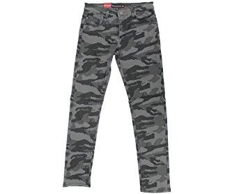 Camo Twill Skinny Jean (32/30 Black)