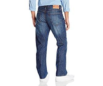 Izod Men's Regular-Fit Jean Medium Vintage 34Wx34L