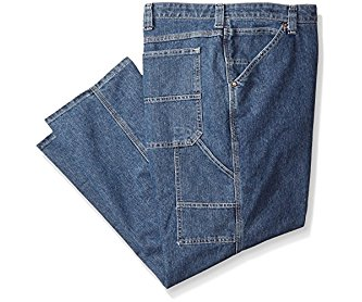 Lee Men's Big-Tall Dungarees Custom Fit Carpenter Jean Original Stone 44W x 32L