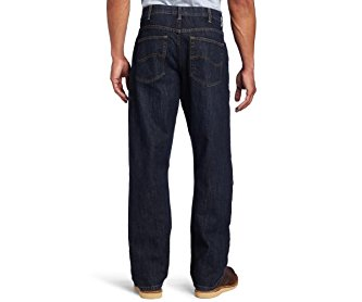 Lee Men's Big-Tall Premium Select Custom Fit Loose Straight Leg Jean Vandal 44W x 30L