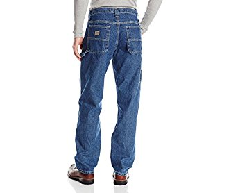 Lee Men's Dungarees Carpenter Jean Original Stone 38W x 32L
