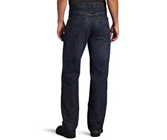 Lee Men's Premium Select Relaxed Fit Straight Leg Jean Calypso Wiskered 40W x 32L