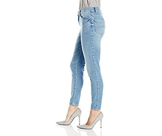 Lee Women's Modern Series Midrise Fit Anna Skinny Ankle Jean Clear Sky 18/Short