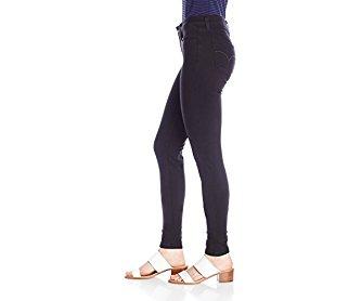 Levi's Women's 535 Super Skinny Jean Soft Black 27W x 30L