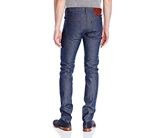 Naked & Famous Denim Men's Superskinnyguy Natural Selvedge Jeans Indigo 38