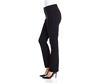 NYDJ Women's Sheri Skinny Jeans Black 12