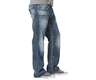 Silver Jeans Co. Gordie Dark Wash 34 x 32