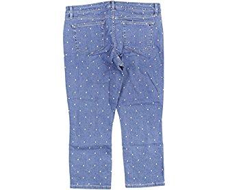 Tommy Hilfiger Womens Polka Dot Cropped Slim Fit Jeans 892 18x25