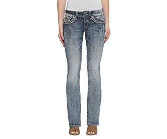 Vigoss Women's Bootcut Dallas Jean Medium Wash 32